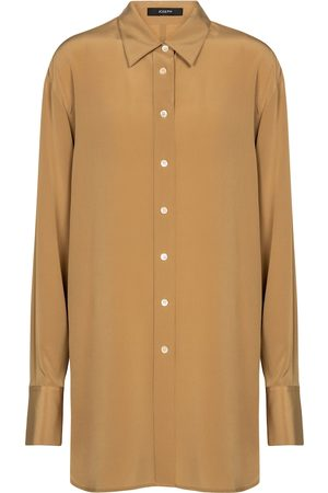 Joseph Brooks silk crêpe shirt