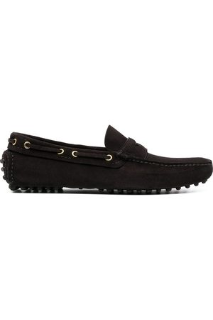 CAR SHOE Men Loafers - Suede driving shoes