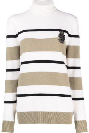 Dolce & Gabbana Striped turtleneck jumper