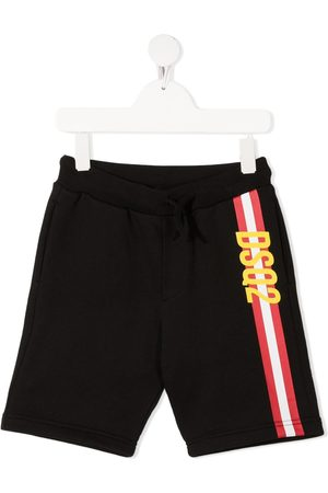 Dsquared2 Logo stripe-print shorts