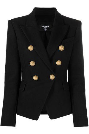 Balmain Double-breasted button blazer