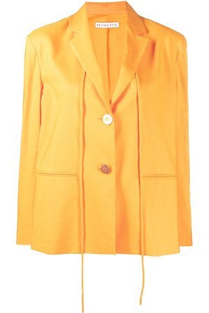 REJINA PYO Single-breasted drawstring blazer
