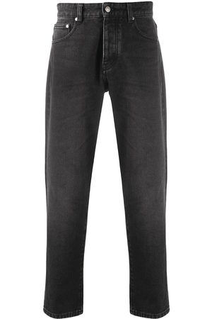 Ami Men Slim - Cropped slim-fit jeans