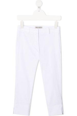 Simonetta Slim-fit tailored trousers