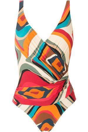 Lygia & Nanny Maisa printed swimsuit