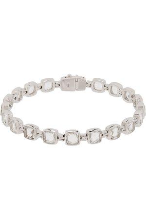 TOM WOOD Sterling rock crystal cushion bracelet