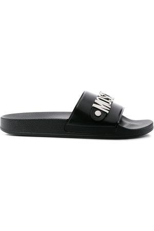 Moschino Men Sandals - Logo plaque slides