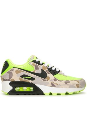 "Nike Men Sneakers - Air Max 90 ""Volt Duck Camo"" sneakers"