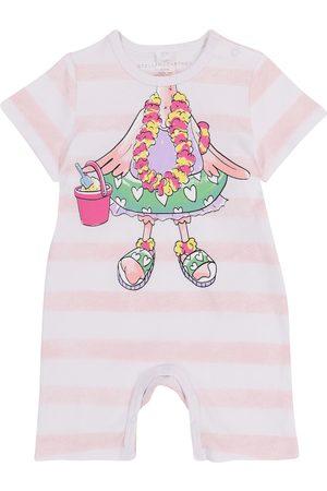 Stella McCartney Rompers - Baby printed cotton onesie