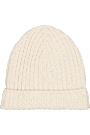 Barrie Women Beanies - Ribbed-knit cashmere beanie