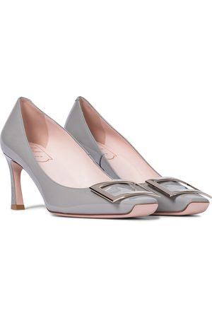 Roger Vivier Women Shoes - Belle Vivier Trompette 70 patent leather pumps