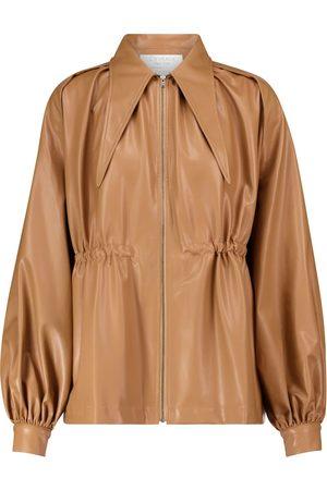Deveaux New York Ari faux leather jacket