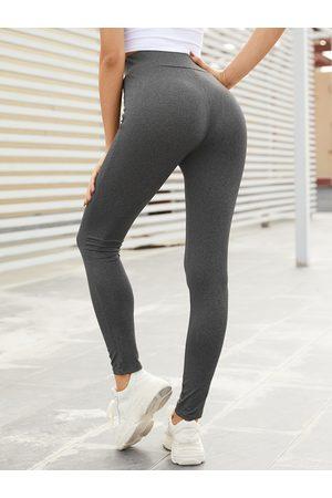 YOINS BASICS Drawstring High Waisted Bodycon Fit Leggings