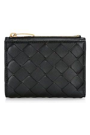Bottega Veneta Bi-Fold Leather Wallet