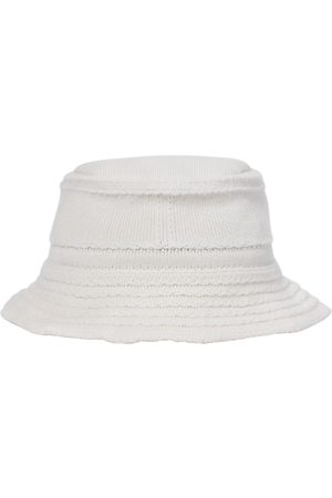 Barrie Cashmere and cotton bucket hat