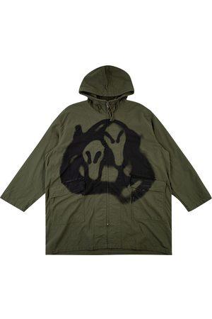 Supreme X Yohji Yamamoto hooded parka