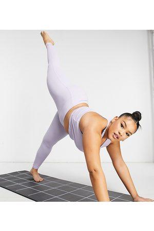 ASOS Curve sports legging in rib