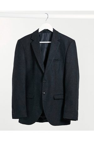 Jack & Jones Premium suit jacket in slim fit wool herringbone