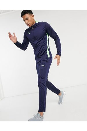 PUMA Football tracksuit in and green