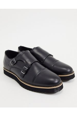 Truffle Collection Casual monk strap shoes in