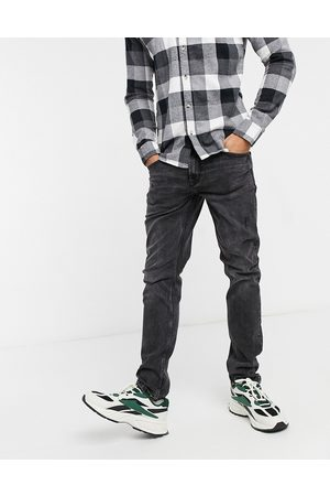 Only & Sons Slim fit distressed jeans in washed