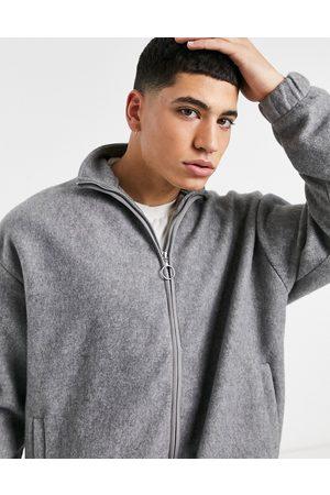 ASOS Smart co-ord wool look track jacket in melange