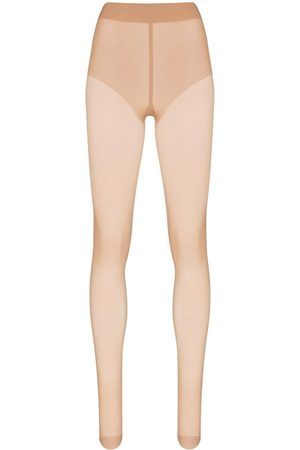 Wolford Women Stockings - Neutral Pure 10 tights