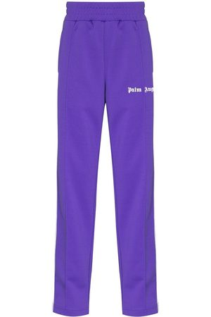 Palm Angels Side panel logo track pants