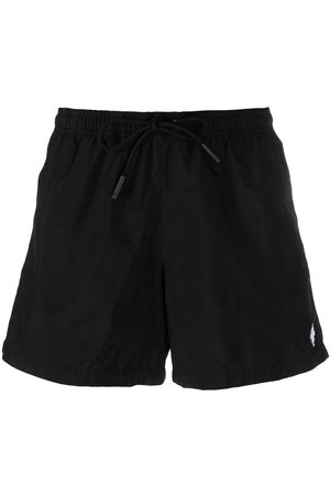MARCELO BURLON CROSS SWIMMING SHORT WHITE