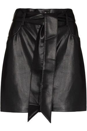 Nanushka Faux-leather mini skirt