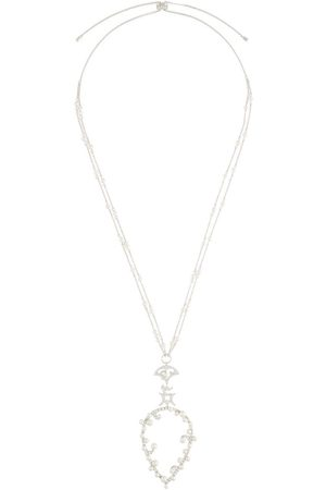 APM Monaco Moon pearl-embellished necklace