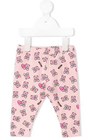 Moschino Teddy Bear print leggings