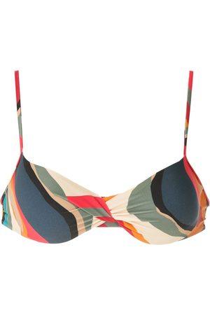 Lygia & Nanny Cassis printed bikini top