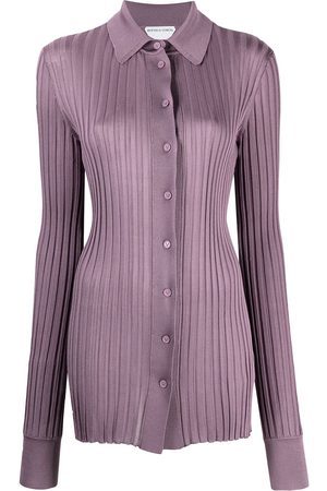 Bottega Veneta Ribbed-knit long-sleeve shirt