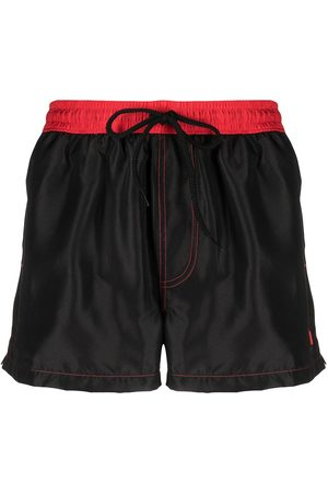 GCDS Two-tone swim shorts