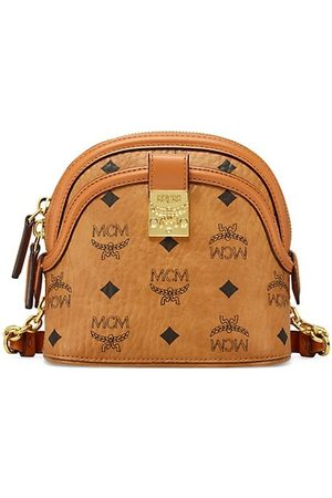 MCM Anna Visetos Crossbody Bag