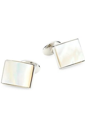 David Donahue 2-Piece Sterling & Mother Of Pearl Cufflink