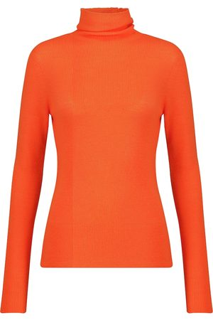 Ganni Merino wool turtleneck sweater