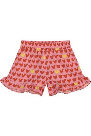 Stella McCartney Heart-print shorts