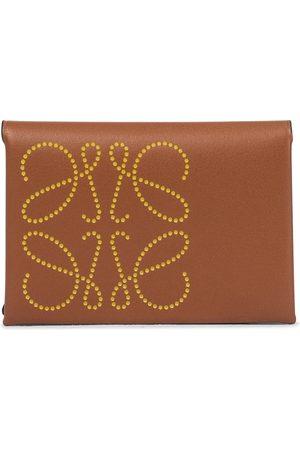 Loewe Anagram leather card holder