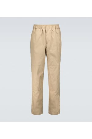 Jil Sander Men Chinos - Relaxed-fit cotton chino pants