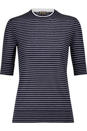 Loro Piana Fontvieille striped cashmere sweater