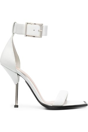 Alexander McQueen Buckle-fastening open-toe sandals