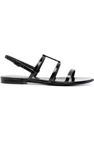 Saint Laurent Cassandra monogram sandals