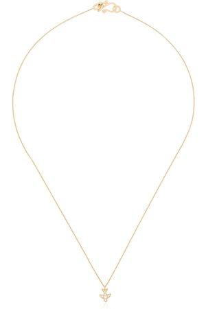 SOPHIE BILLE BRAHE 18K yellow Petite Matisse diamond necklace