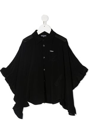 Dsquared2 Draped sleeves buttoned blouse