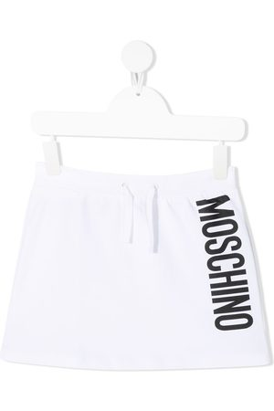 Moschino Logo print mini skirt