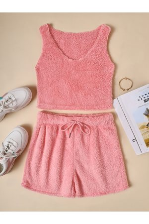 YOINS Scoop Neck Sleeveless Two Piece With Pants