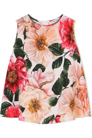 Dolce & Gabbana Floral-print vest
