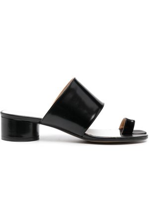 Maison Margiela Tabi toe-ring leather sandals
